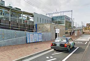 「御影駅」北側出口
