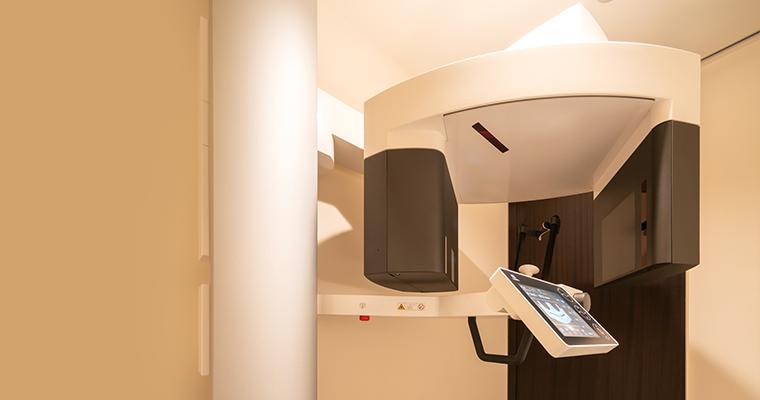 CTを用いた精密な診断